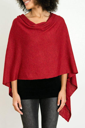 EcoVibe Style - 8-Way Convertible Poncho,  | Hibiscus