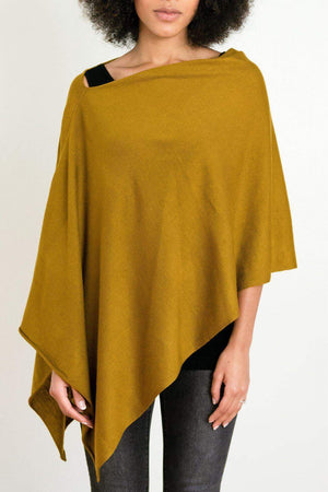 EcoVibe Style - 8-Way Convertible Poncho,  | Ginger