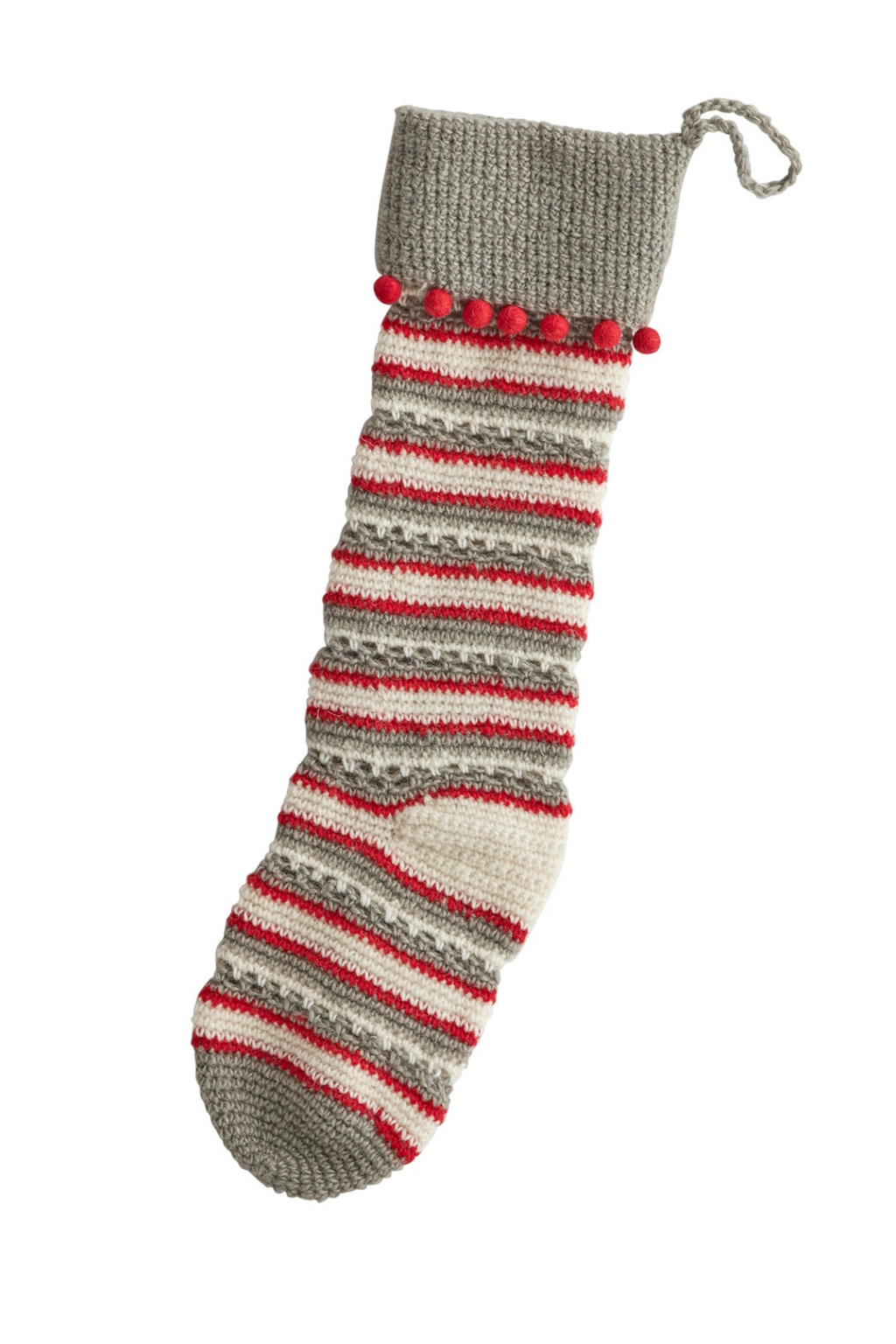 Accent Decor Stitch Stocking