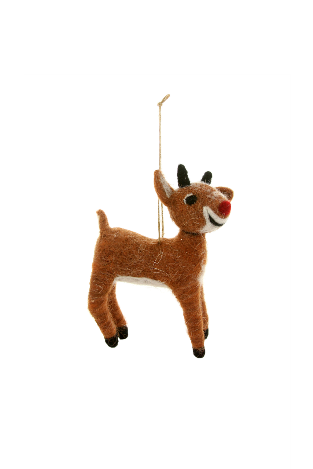 Cody Foster Rudolph Felted Ornament