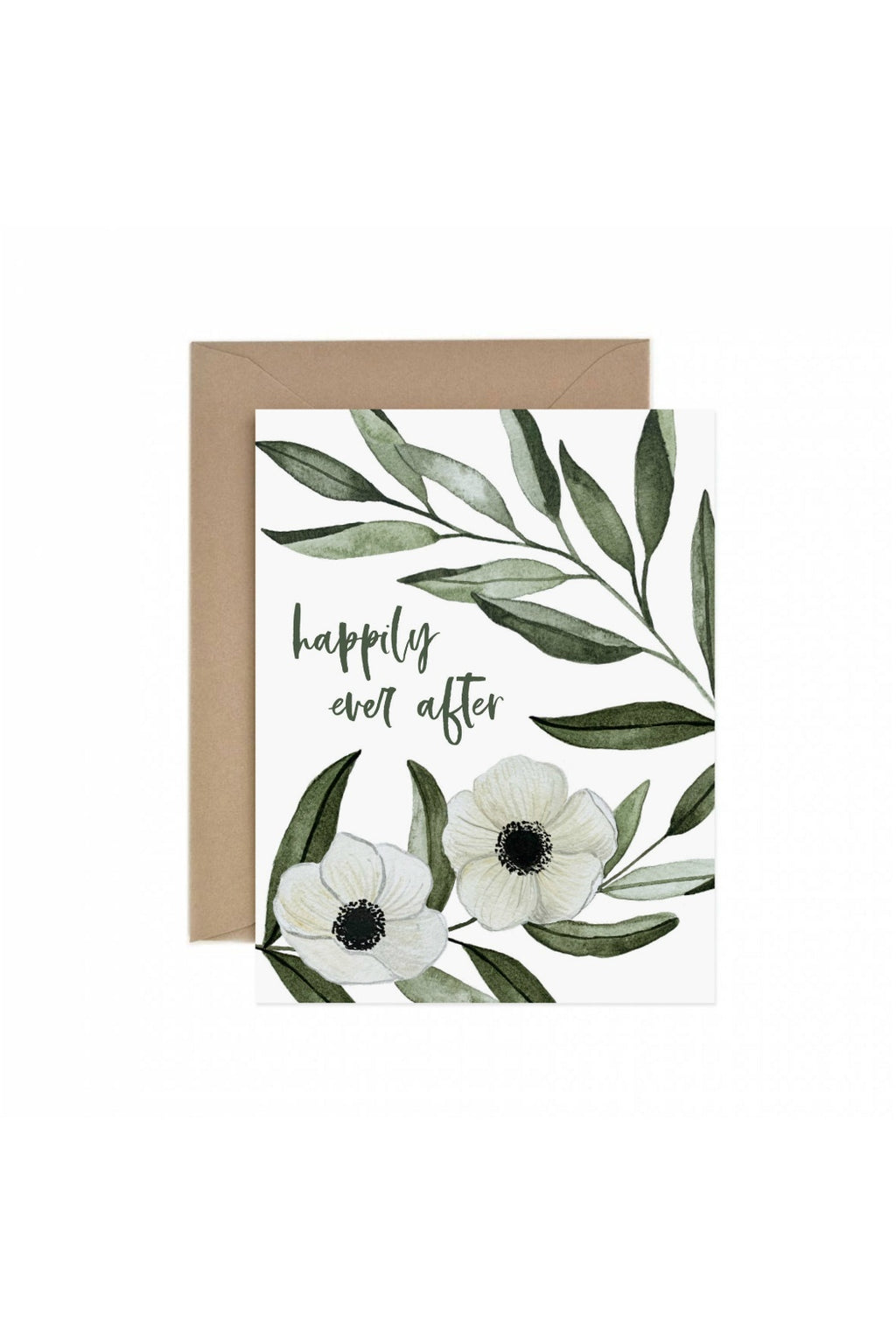Paper Anchor Co. Happily Ever After Anemone Greeting Card