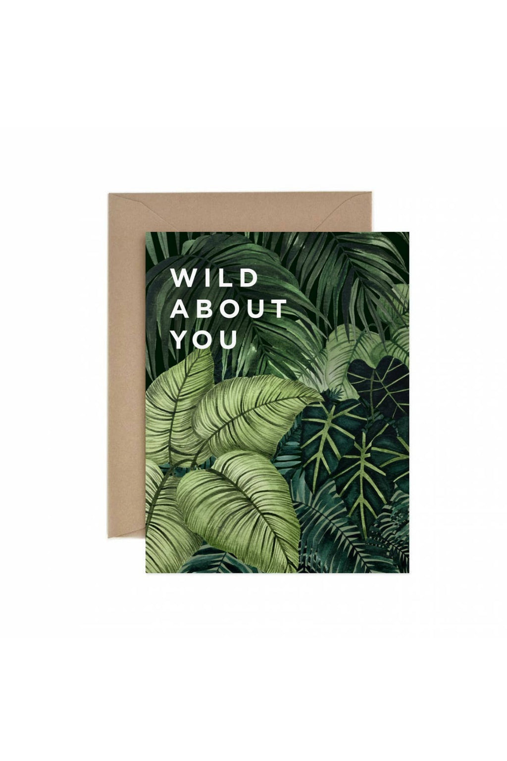 Paper Anchor Co. Wild About You Greeting Card