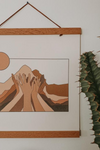 colorbloKC Move Mountains Wall Print