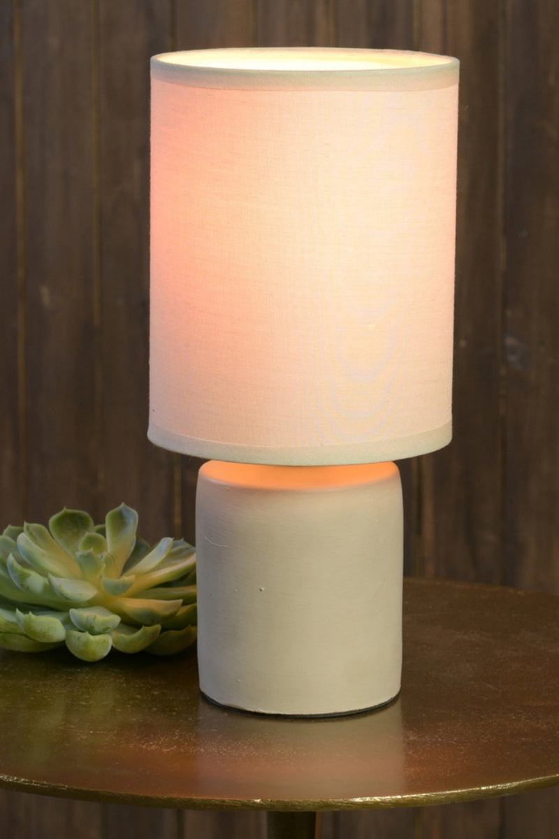 HomArt Nano Cement Table Lamp Light Grey