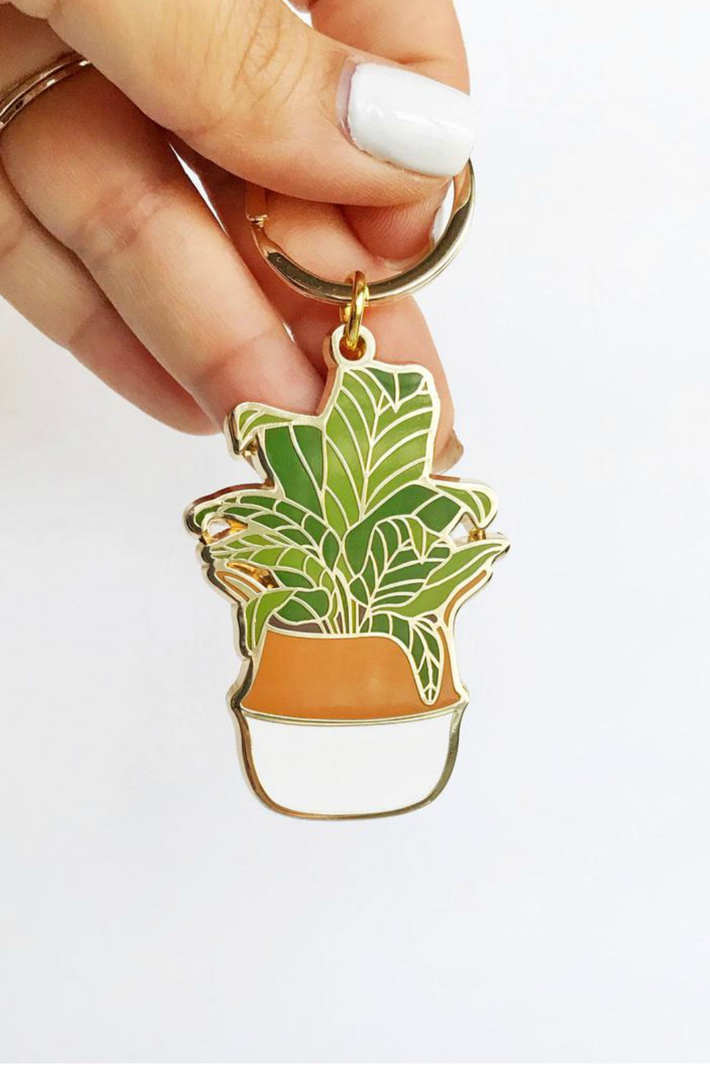 Paper Anchor Co. Banana Leaf Keychain