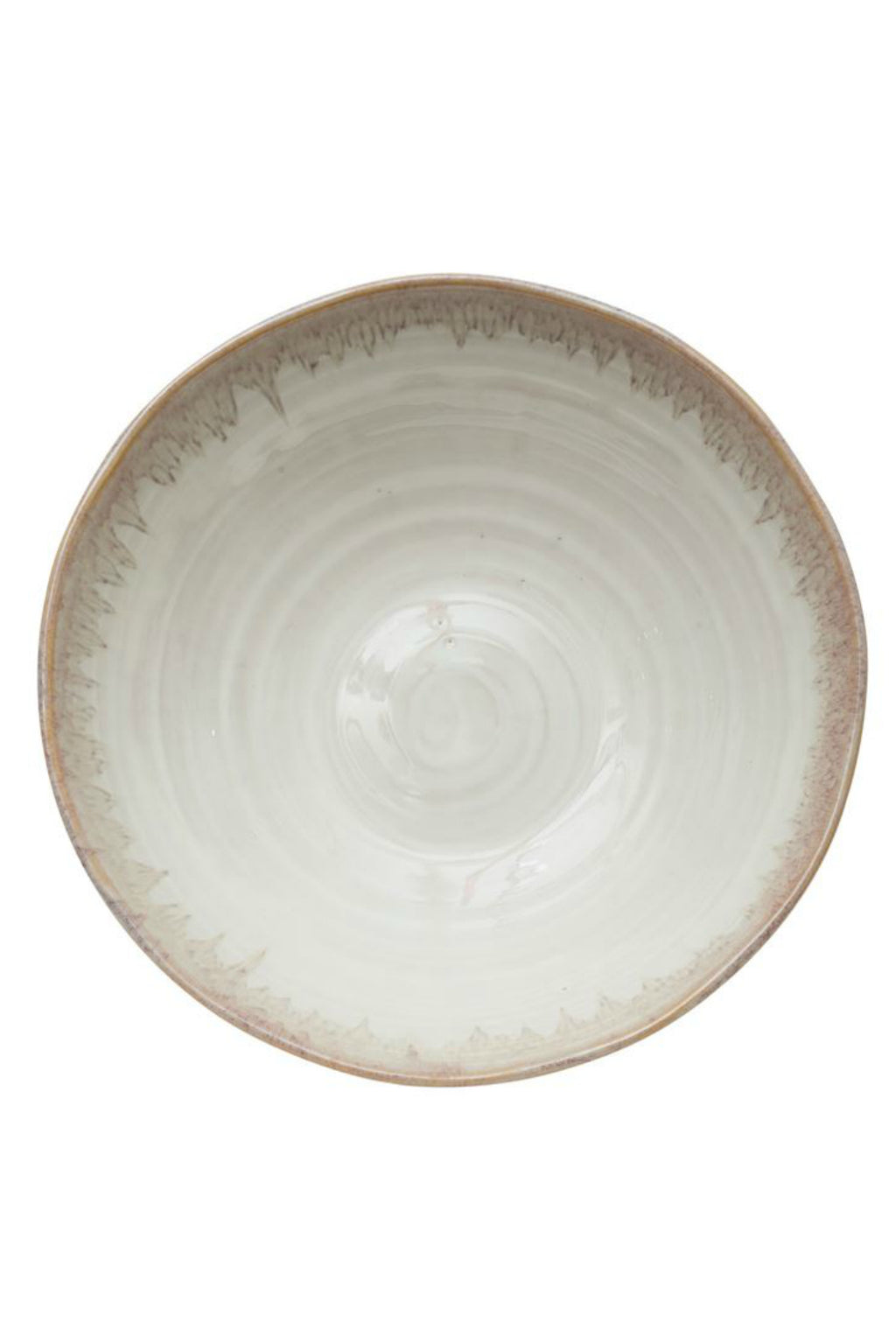 Bloomingville Stoneware Footed Bowl