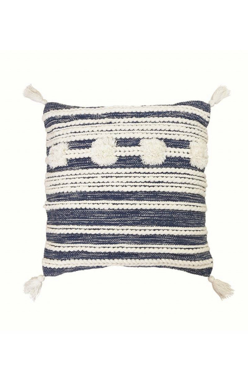Foreside Home & Garden Hand Woven Blake Pillow