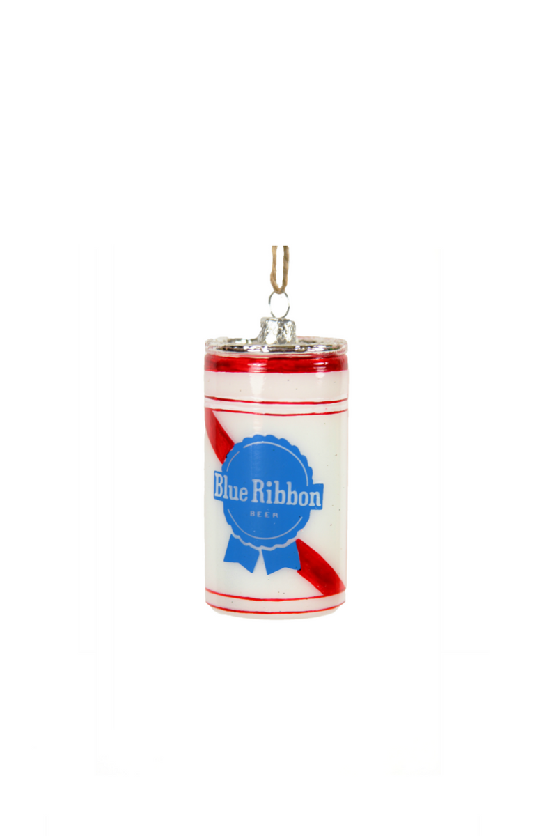 Cody Foster Blue Ribbon Beer Can Ornament