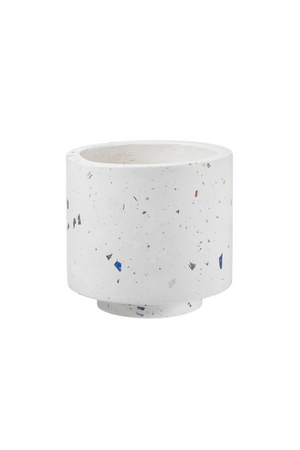 Texture by Design Ideas Terrazzo Pot in Blue