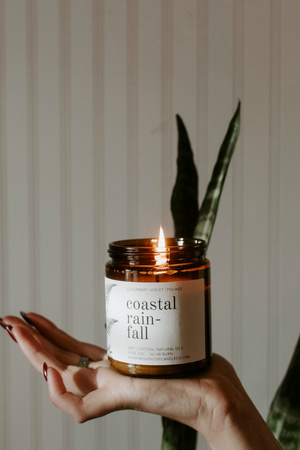 Broken Top Candle Company Coastal Rainfall Soy Candle