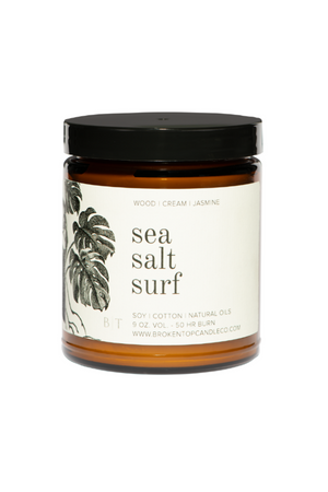 Broken Top Candle Company Sea Salt Surf Soy Candle 9oz