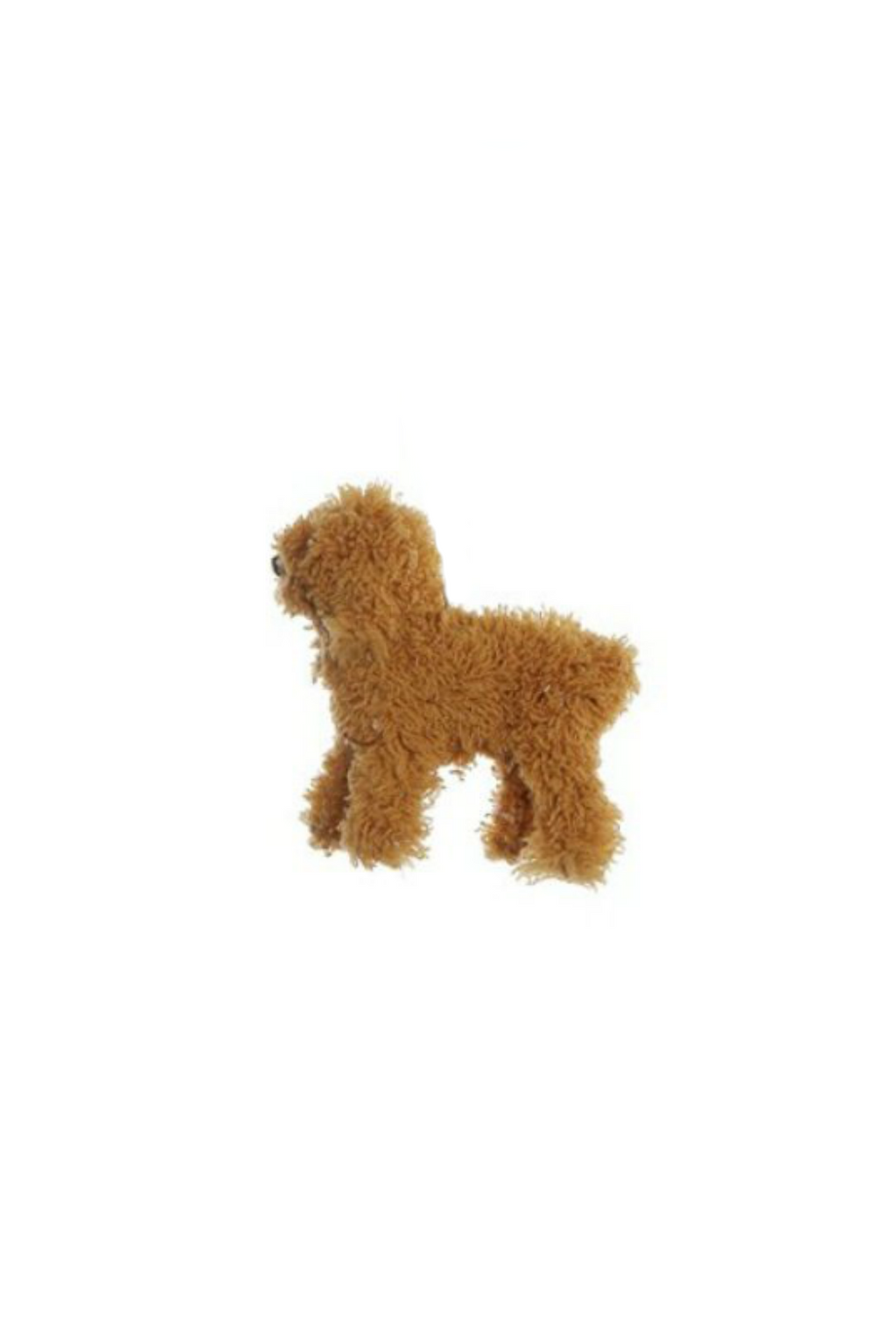 Creative Co-Op Furry Dog Ornament Ginger