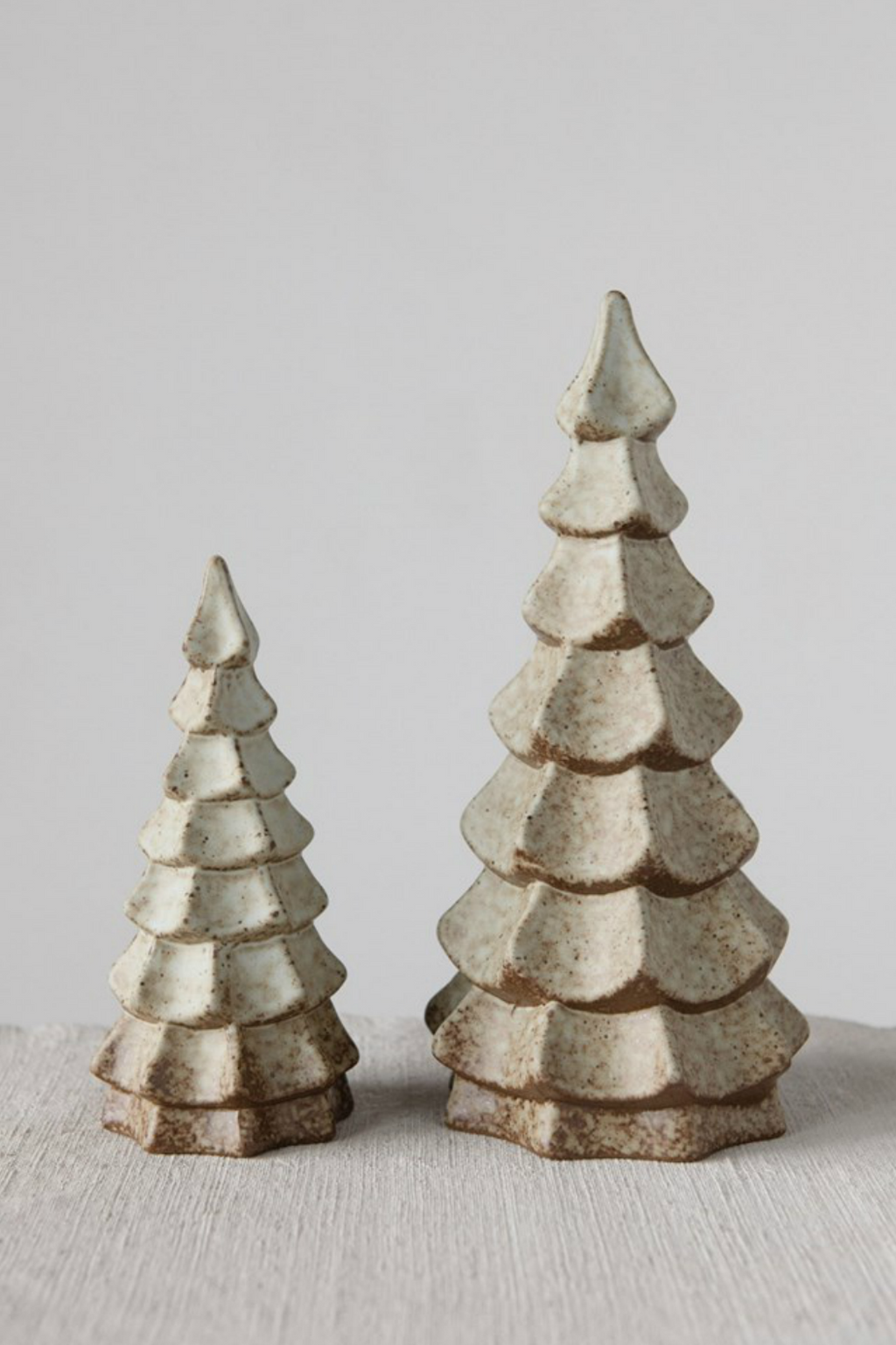 Creative Co-Op Reactive Glaze Stoneware Tree