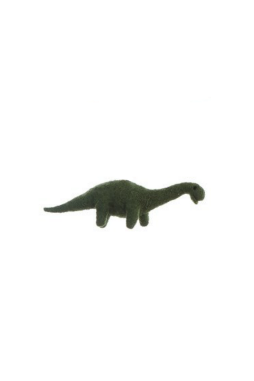 Creative Co-Op Wool Felt Dinosaur Ornament Brachiosaurus