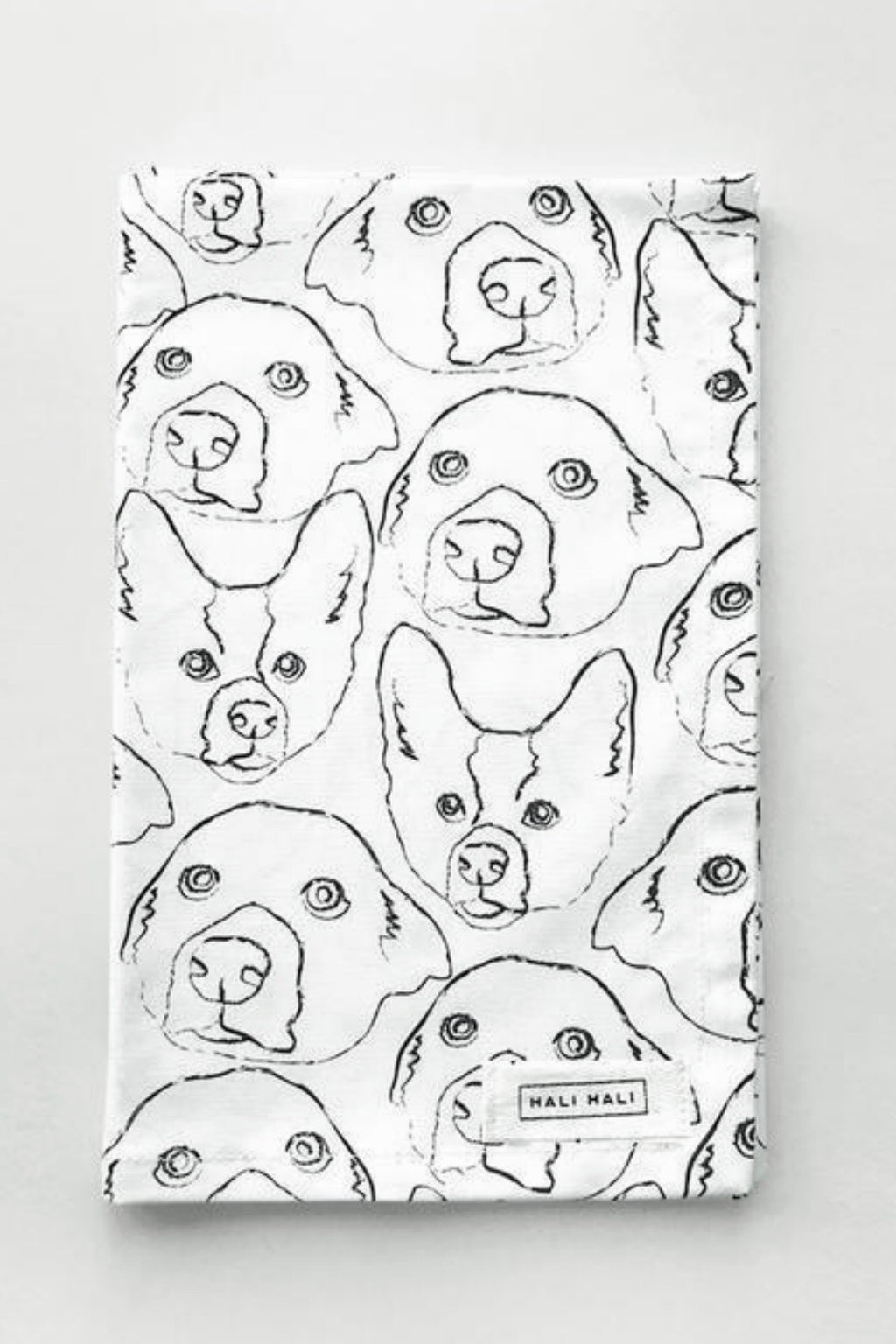 Hali Hali Love Your Dog Tea Towel