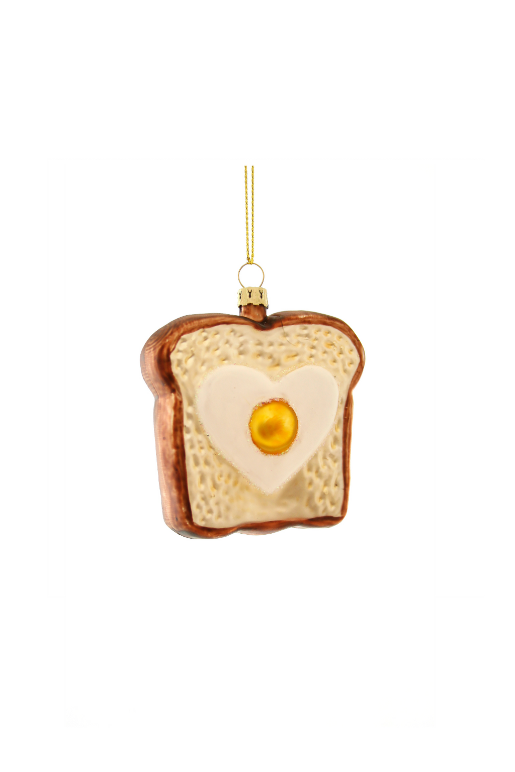 Cody Foster Eggs in Toast Ornament