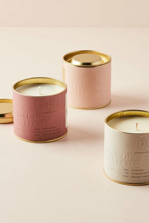 Illume Elemental Citrus Cedarleaf Tin Candle