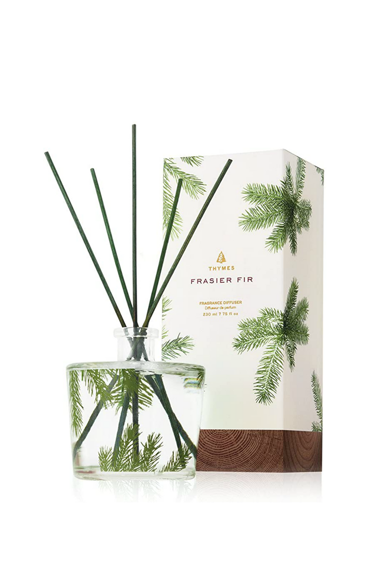 Thymes Frasier Fir Large Reed Diffuser, Pine Needle