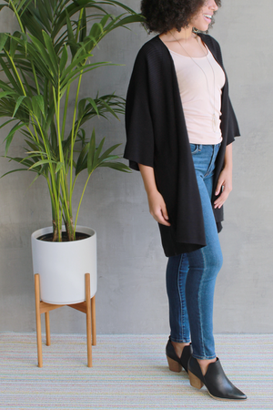 Kerisma Freya Long Cardigan in Black