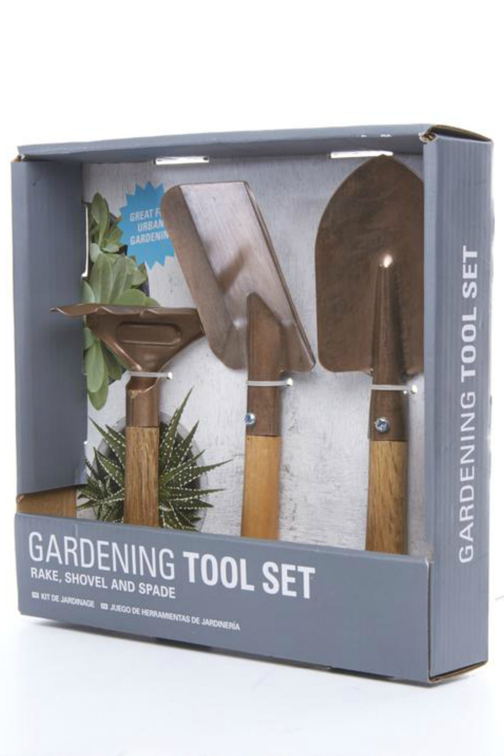 Kikkerland Copper Garden Tool Set
