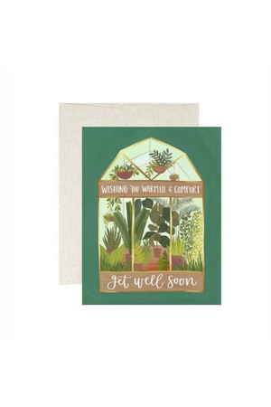One Canoe Two Get Well Greenhouse Card