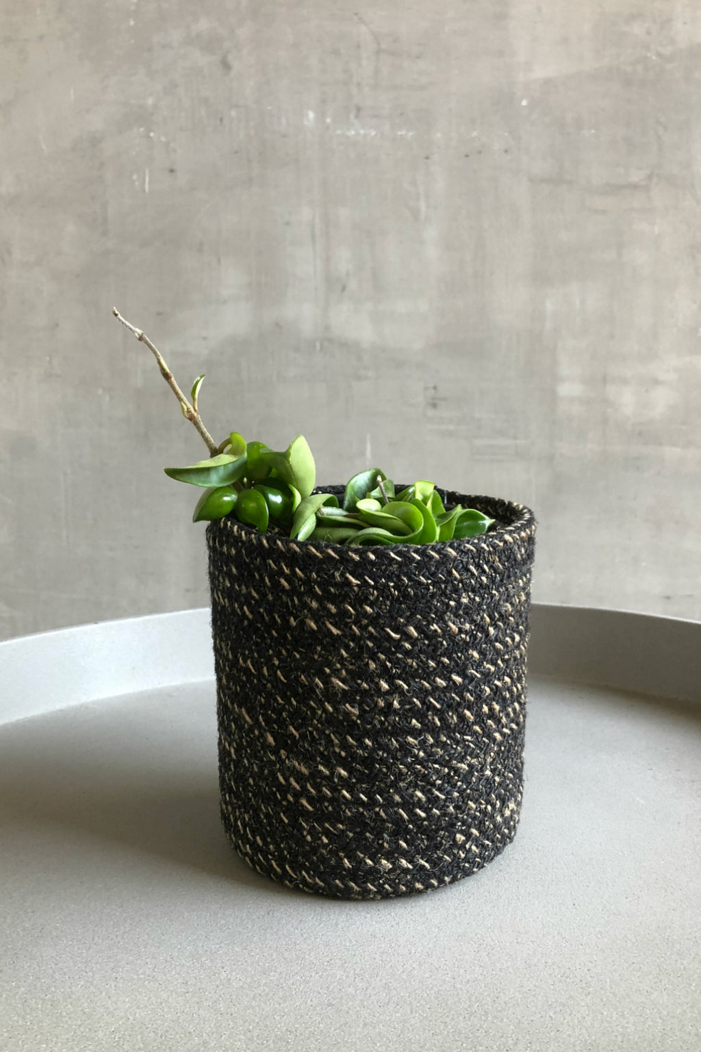Texture by Design Ideas Melia Basket in Black