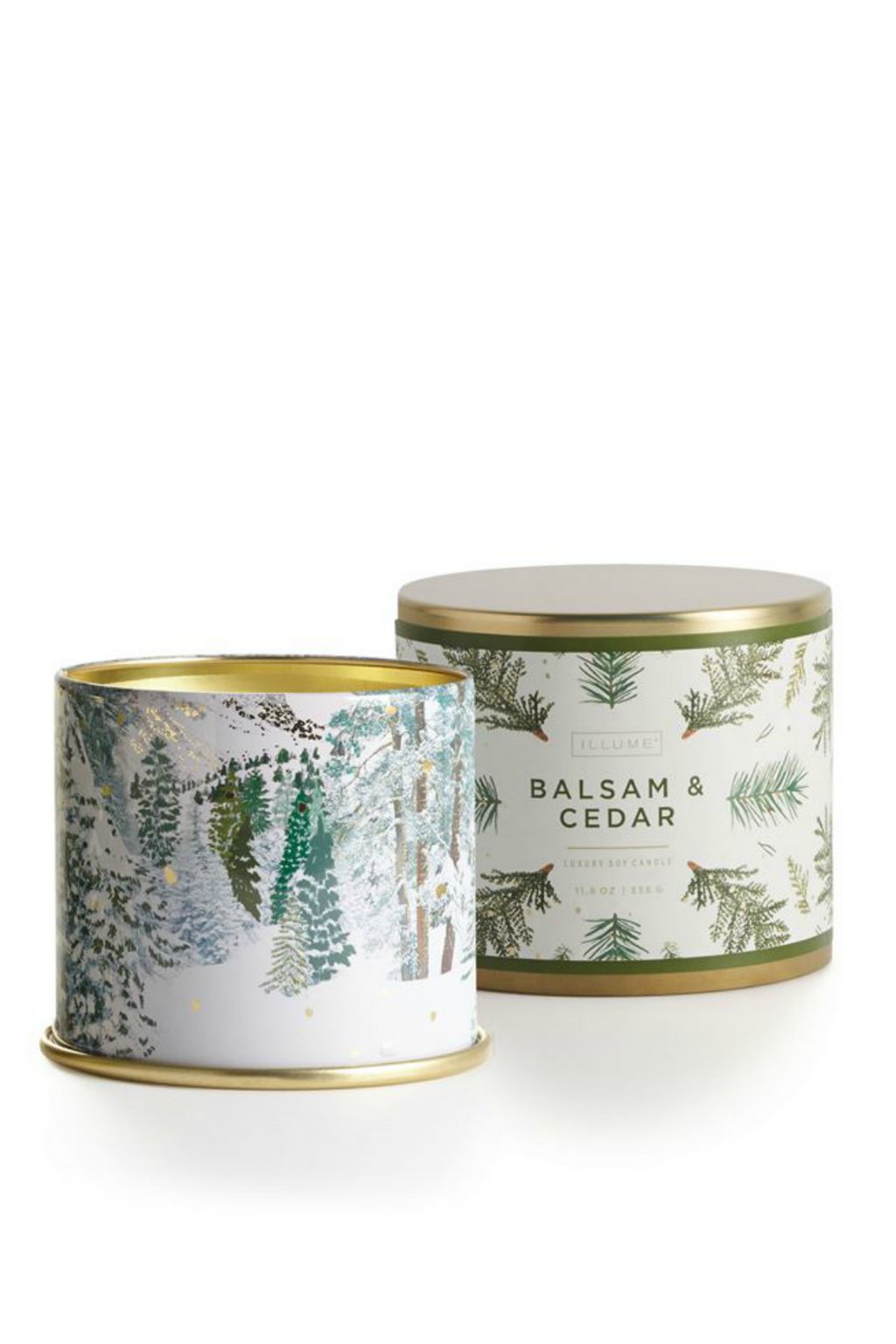 Illume Noble Holiday Large Tin Candle