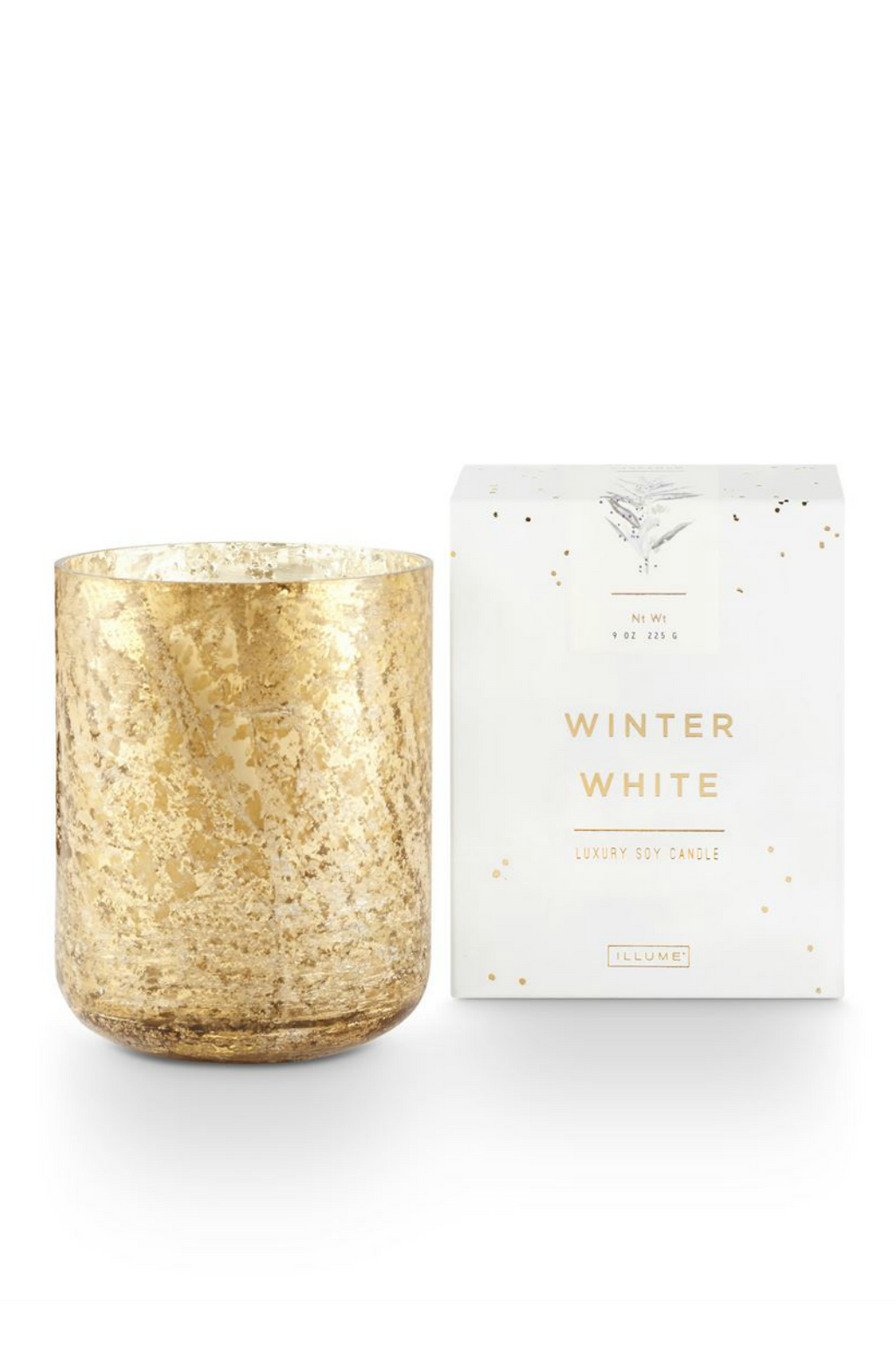 Illume Small Luxe Holiday Candle Winter White