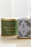 Illume Noble Holiday Demi Tin Candle Balsam & Cedar
