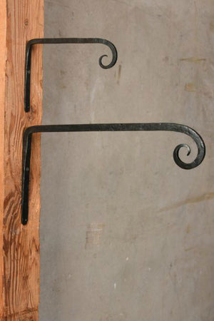 HomArt Long Forged Cast Iron Wall Hook