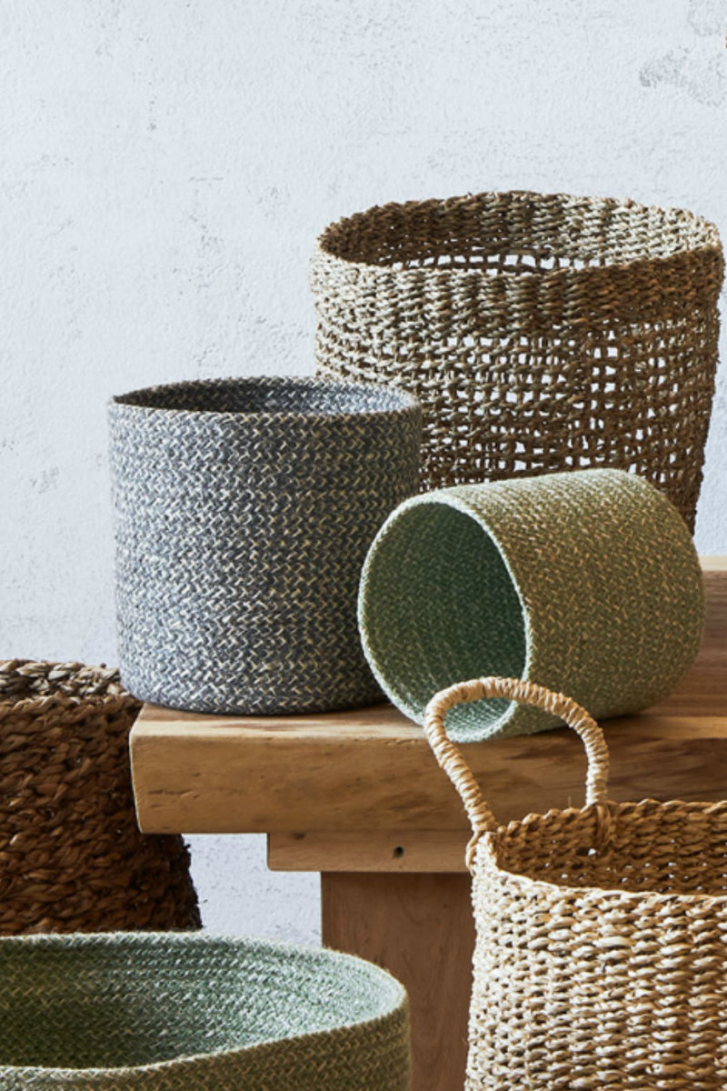 Texture by Design Ideas Melia Basket in Sage