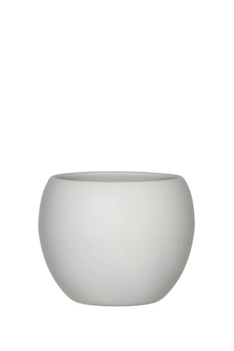 BIDK HOME Monet Ceramic Pot in White