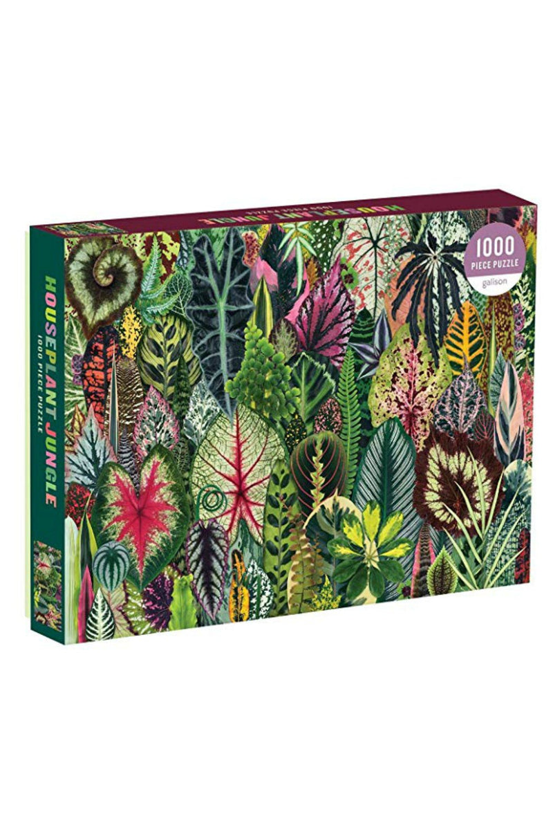Chronicle Books Houseplant Jungle 1000 Piece Puzzle