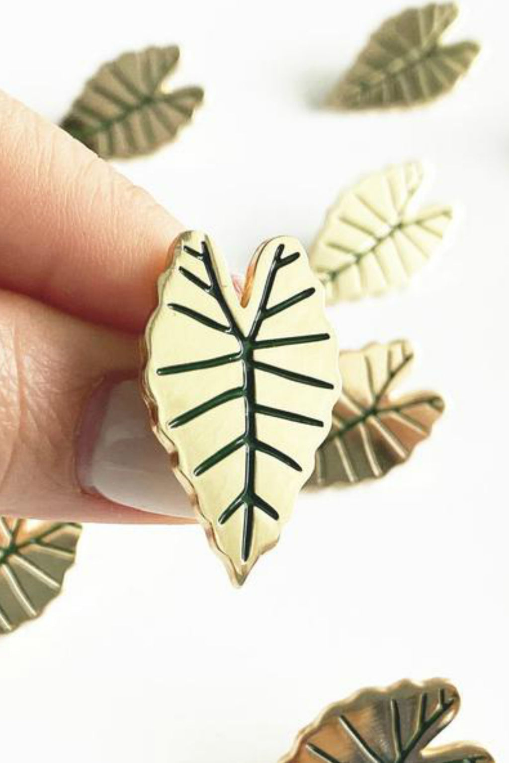 Paper Anchor Co. Alocasia Leaf Lapel Pin