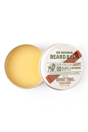 Duke Cannon Buffalo Trace Bourbon Beard Balm