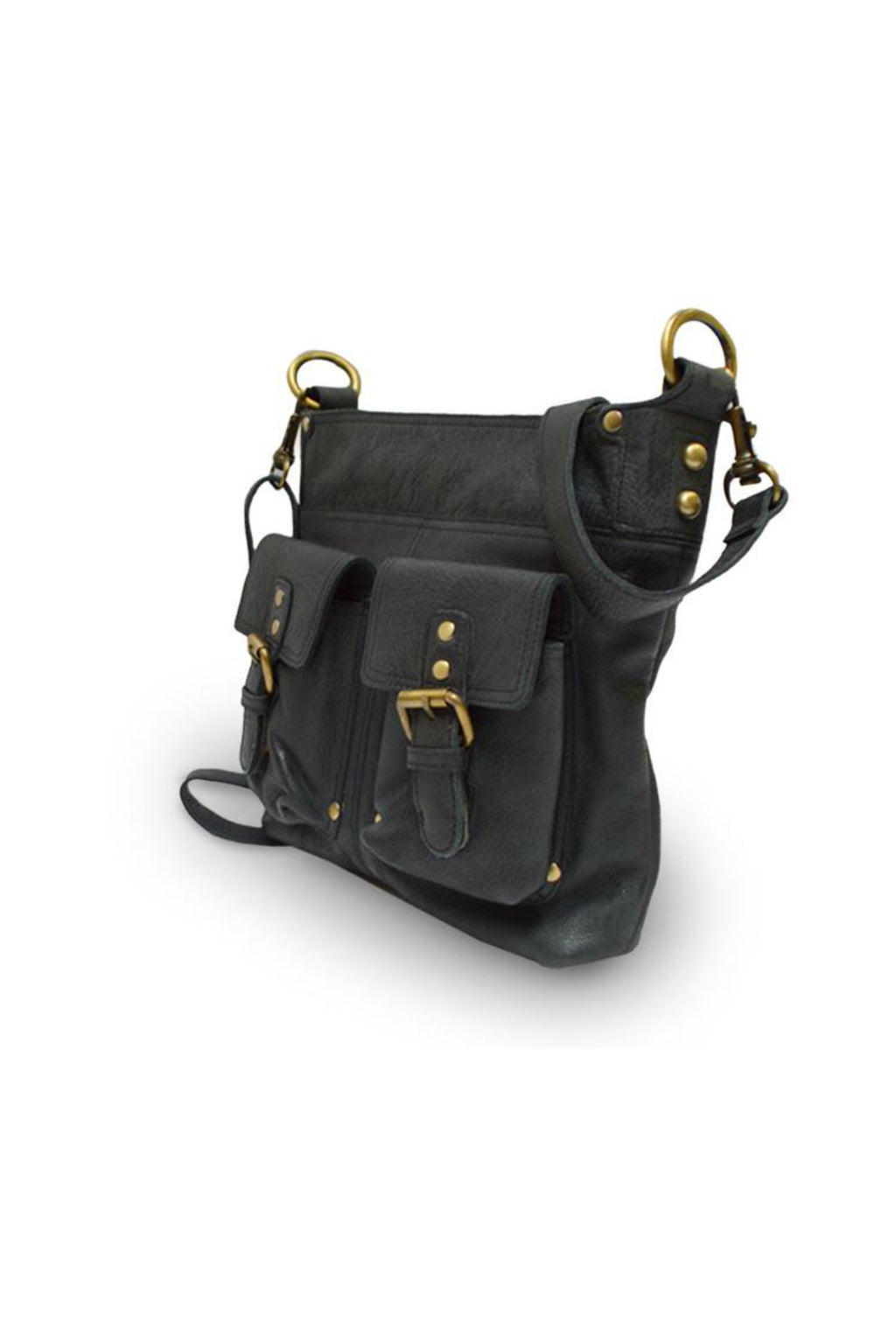 Anabaglish Joan Leather Bag in Black