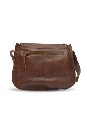 Anabaglish Saddle Crossbody Bag in Brown