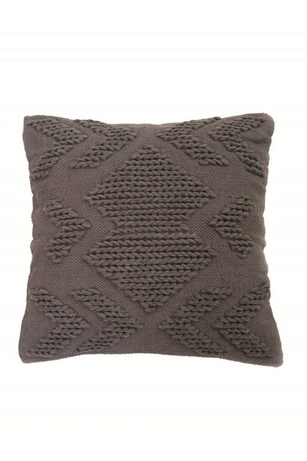 Foreside Nia Pillow in Grey