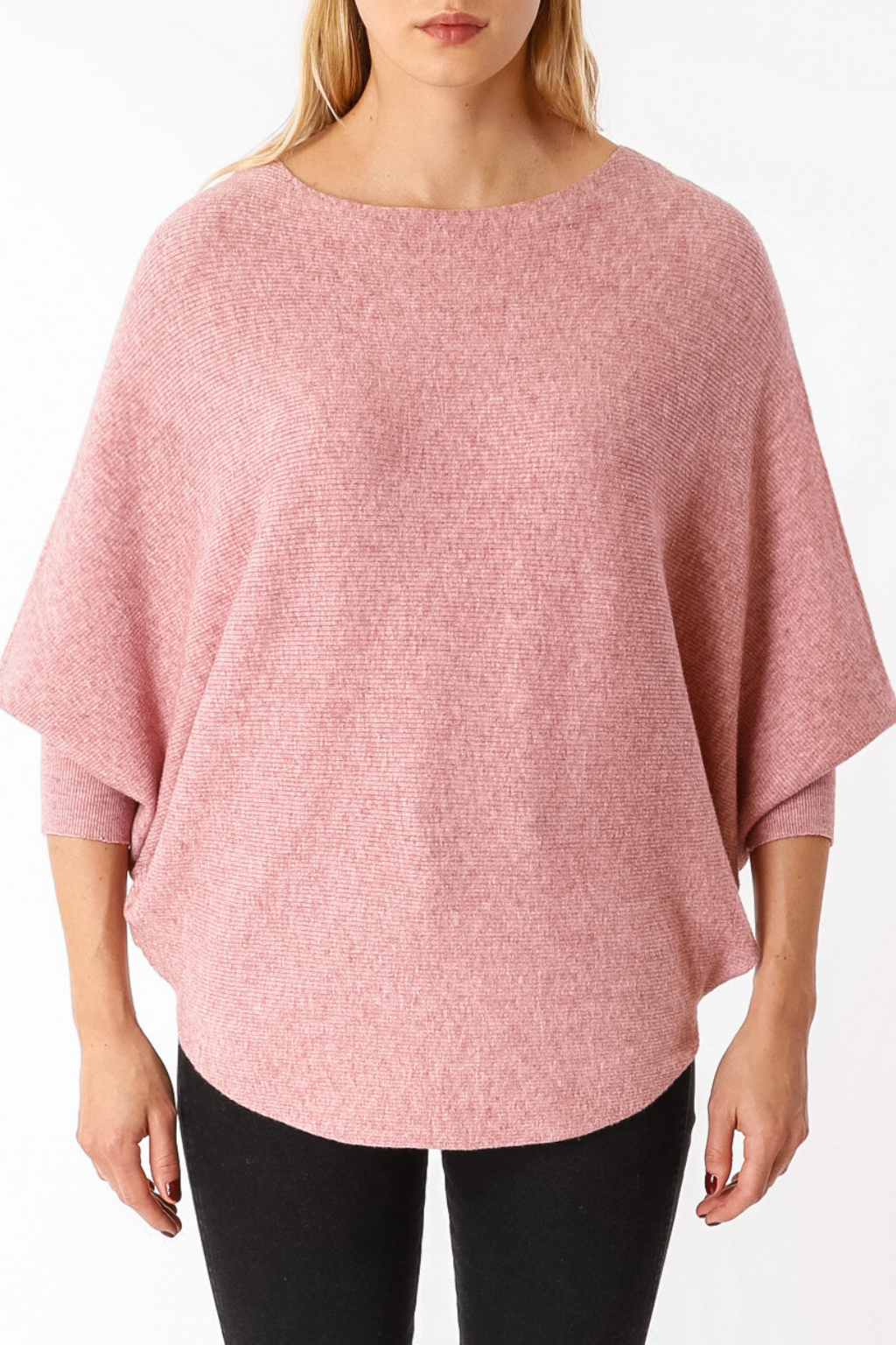 EcoVibe Brynn Sweater in Dusty Pink