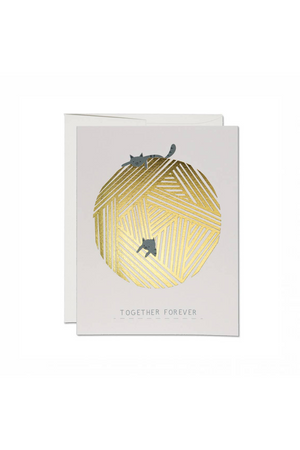 Red Cap Cards Together Forever Greeting Card