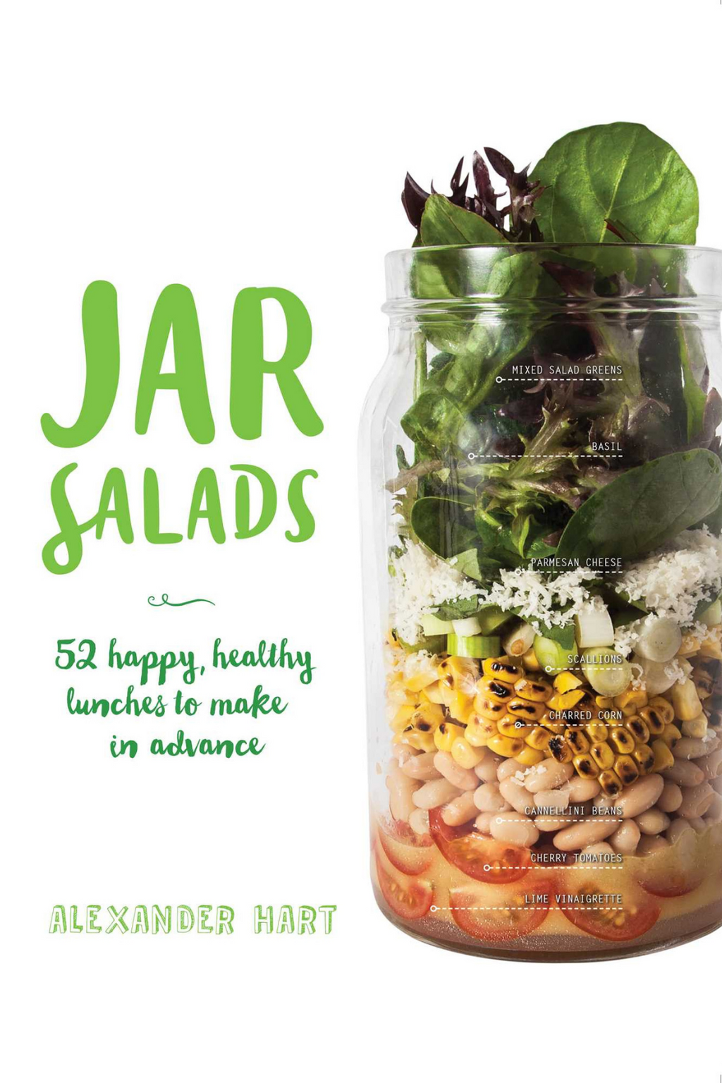 Jar Salads: 52 Happy, Healthy Lunches to Make in Advance  By Alexander Hart