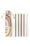 Reusable Straws 6-Piece Set