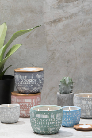 Paddywax Candles Sonora Concrete Candles