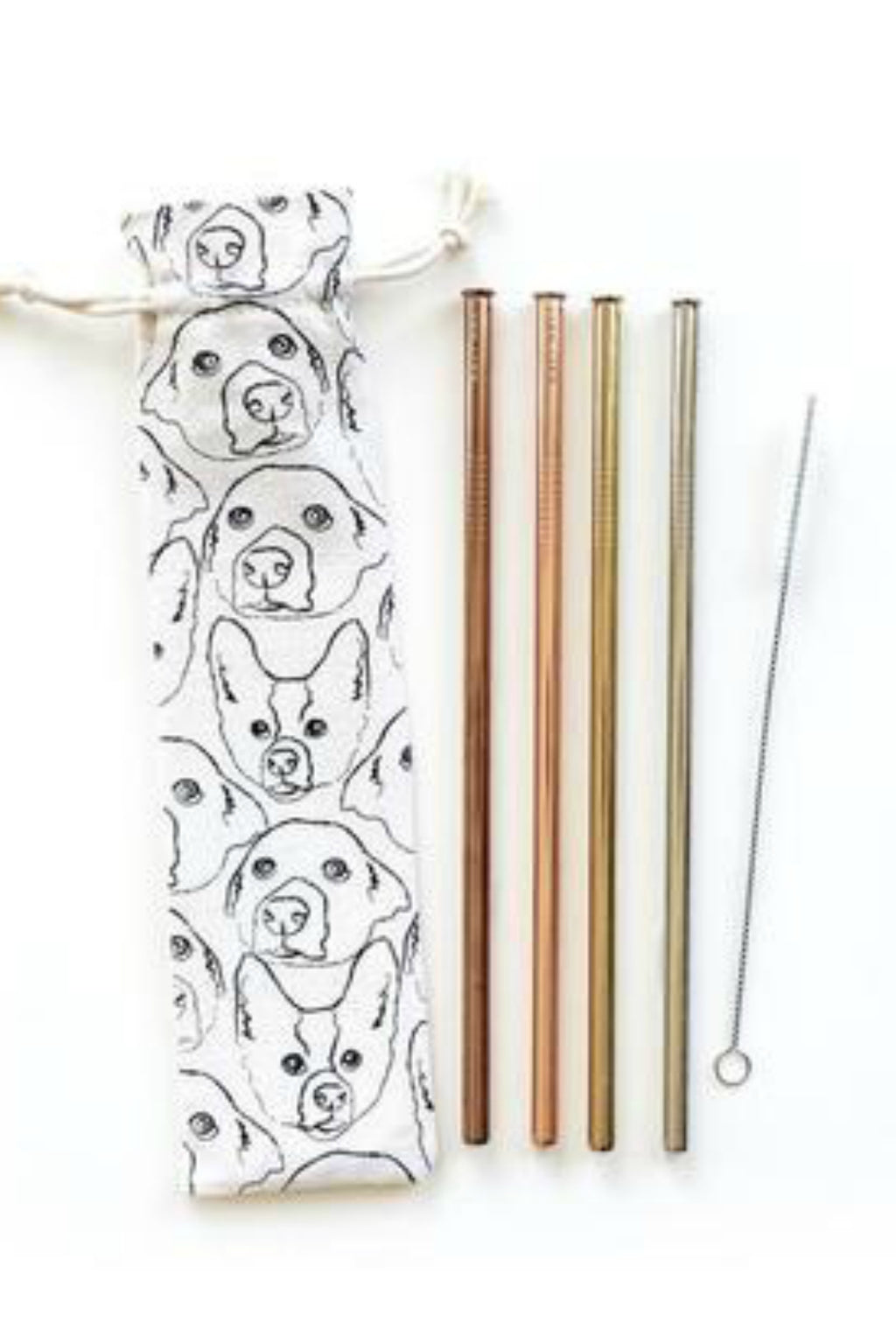 Hali Hali Reusable Straws 6-Piece Set