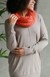 Rubyzaar Boho Scarf Burnt Orange