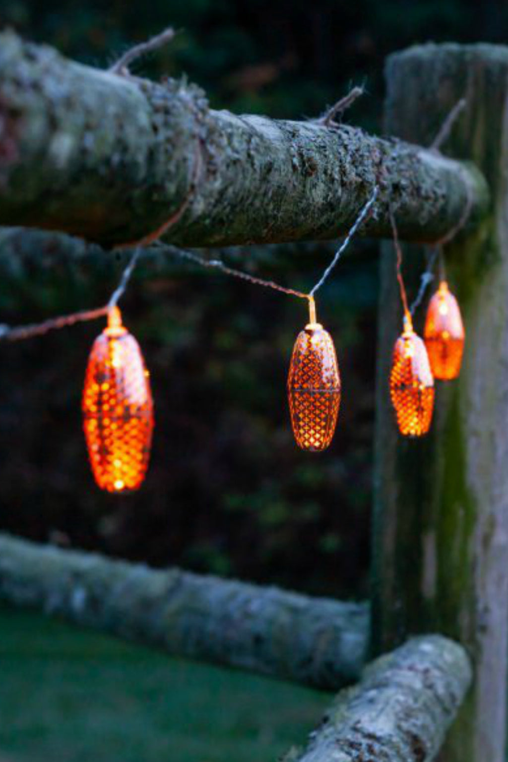 Allsop Stella Solar String Lights Marrakesh Copper