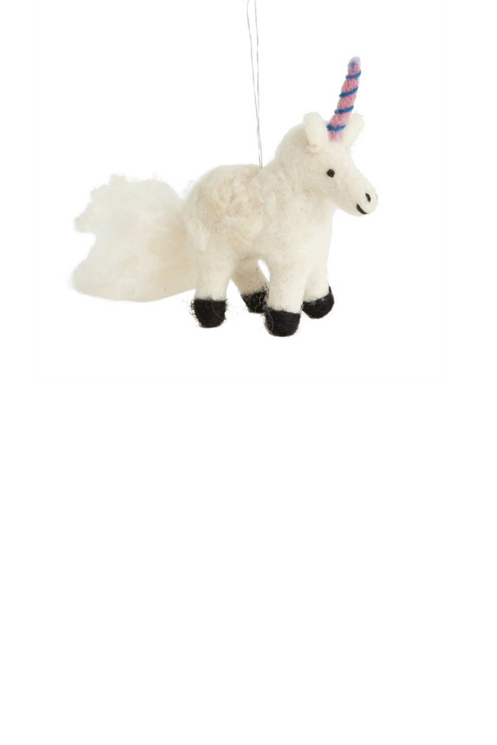 Accent Decor Sugarsnap Unicorn Ornament