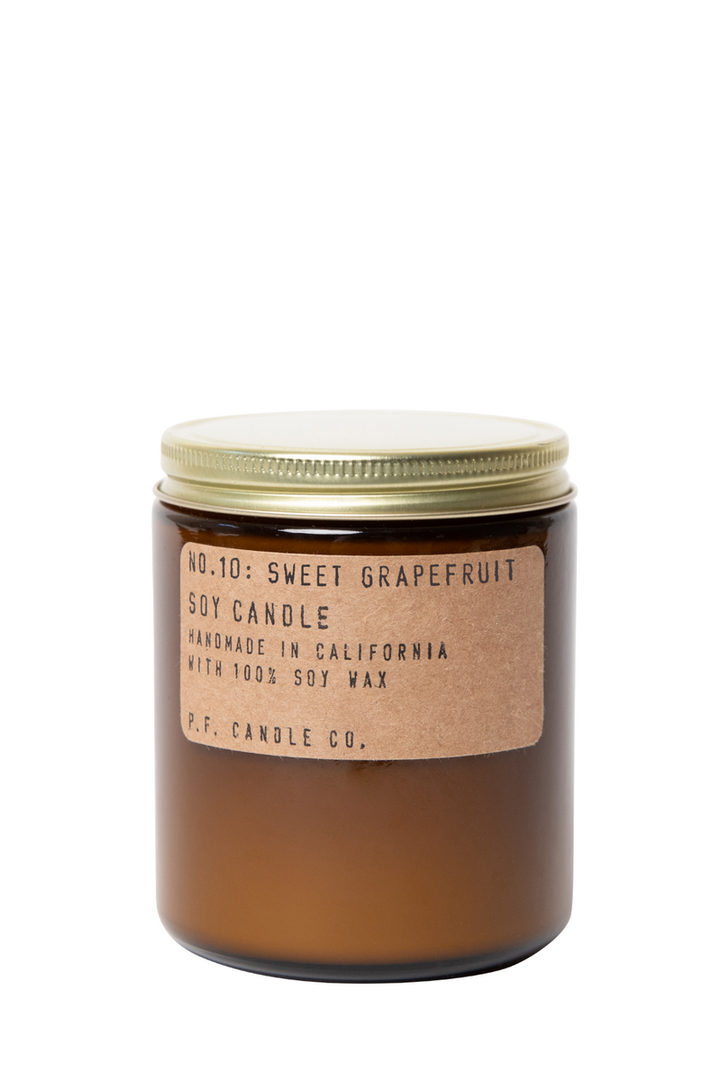 P.F.  Candle Co Sweet Grapefruit Candle,