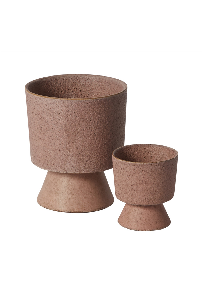 Accent Decor Tarte Footed Pots