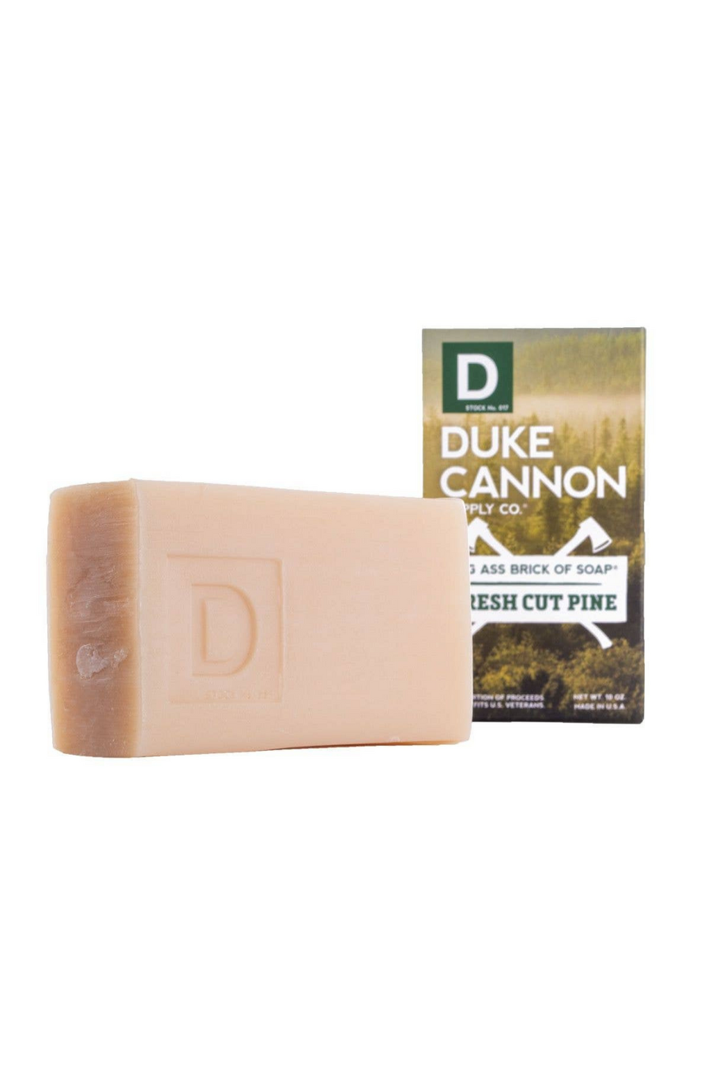 Duke Cannon Fresh Cut Pine Brick of Soap